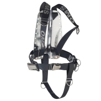 backplate with harness