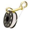 Spool 20 meters with double end 100 mm brass