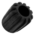 Rubber Knob iD 27mm - black