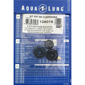 Aqua Lung 128019 Travel Kit 2. Stufe MIKRON / LEGEND / LEGEND LX / TITAN LX / CORE / GLACIA