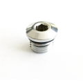 Apeks dummy plugs HP 7/16 chrome - high pressure
