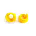 Apeks XTX 2nd stage screw ring (yellow) in front of heat...