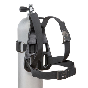 Single Backpack (plastic) with Harness - bottle carrier