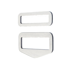 DirZone buckle set QUICK FIX stainless steel (1 set = 1 buckle)