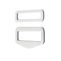 DirZone buckle set QUICK FIX stainless steel (1 set = 1...