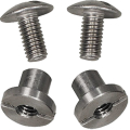 Screw Set (2 pcs) / Argon Straps or Mount Systems for 3mm...