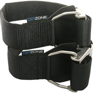 DirZone Cam Bands / Bottle straps (pair) with stainless steel buckles