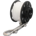 DirZone Spool Delrin cold water spool, white line - 30m