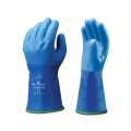 Showa dry diving glove blue with inner glove 8/M