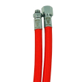 Miflex medium pressure hose red 3/8M x 9/16F