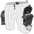 Highland Neoprene Pocket Shorts - TEK Shorts