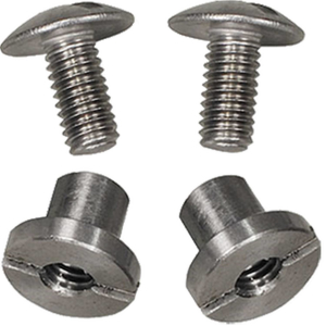 DirZone Screw Set (2 pcs) / Argon Straps or Mount Systems for 6mm Backplate